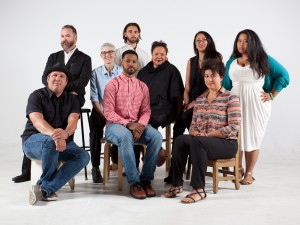 2014 Kresge Artist Fellows in Film and Theatre Group Photo
