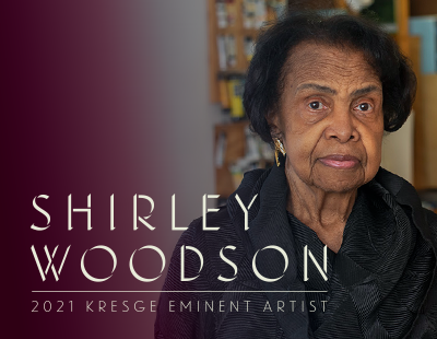 PAINTER AND EDUCATOR SHIRLEY WOODSON NAMED 2021 KRESGE EMINENT ARTIST