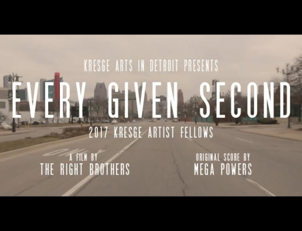"PRESS RELEASE: FILM ""EVERY GIVEN SECOND"" FEATURES THE 2017 KRESGE ARTIST FELLOWS"