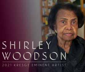 PAINTER AND EDUCATOR SHIRLEY WOODSON NAMED 2021 KRESGE EMINENT ARTIST