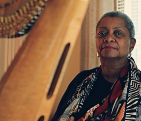 PRESS RELEASE: PATRICIA TERRY-ROSS, ACCOMPLISHED HARPIST, VOCALIST AND LIFELONG EDUCATOR, NAMED 2017 KRESGE EMINENT ARTIST